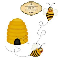 Bee Hive clipart bee nest