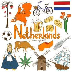 Netherlands clipart march