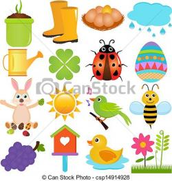 Netherlands clipart spring themed