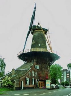 Netherlands clipart water mill
