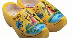Netherlands clipart wooden shoe