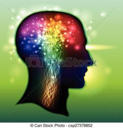 Neuron clipart human brain