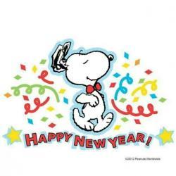 Snoopy clipart feliz