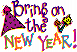 Celebration clipart new year's eve