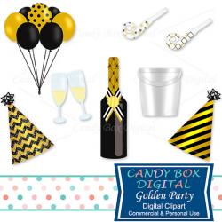 New Year clipart birthday champagne