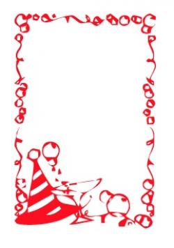 New Year clipart border
