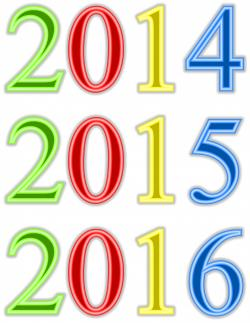 New Year clipart calendar