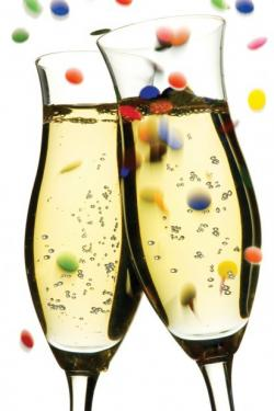 Champagne clipart new years eve