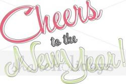 New Year clipart cheers
