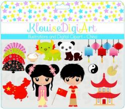 Oriental clipart chinese culture