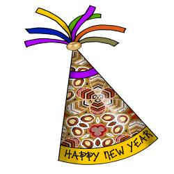 New Year clipart hat clip