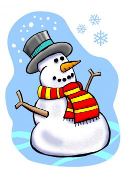 Snowman clipart january