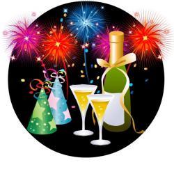 New Year clipart jazz