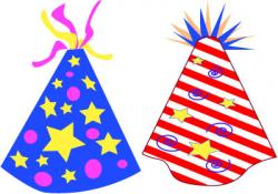 New Year clipart party supply