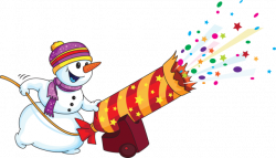 New Year clipart snowman