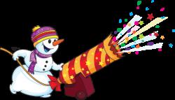 New Year clipart snowman