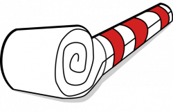 New Year clipart whistle