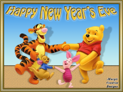 New Year clipart winnie the pooh