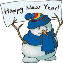 New Year clipart winter