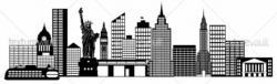 Bulding  clipart new york