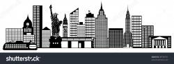 Panorama clipart cityscape