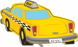 Taxi clipart transparent