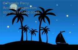 Evening clipart night scenery