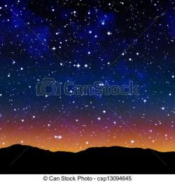 Starry Sky clipart outer space