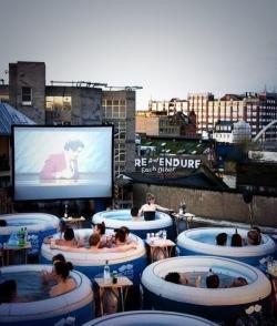 Night Sky clipart outdoor movie screen