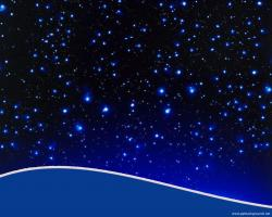 Starry Sky clipart powerpoint