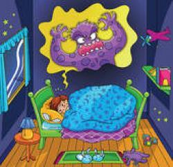 Nightmare clipart sleep
