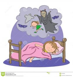Nightmare clipart sleepy time