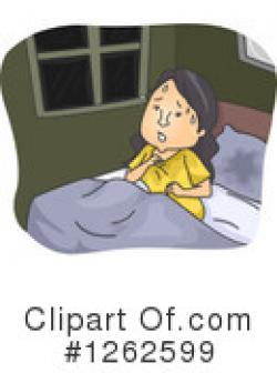 Nightmare clipart woman