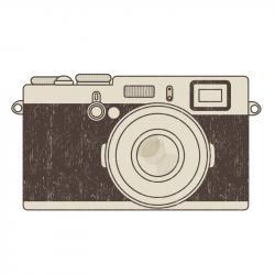 Instagramm clipart vintage