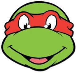 Ninja Turtles clipart face