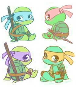 Ninja Turtles clipart gambar