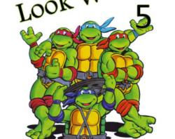 Ninja Turtles clipart happy birthday