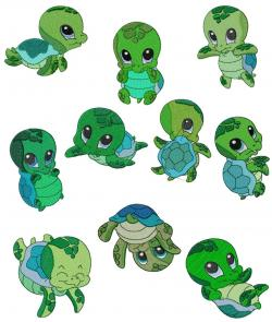 Ninja Turtles clipart kawaii