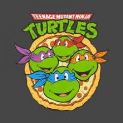 Ninja Turtles clipart pizza party