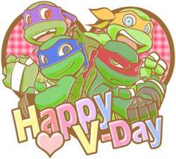 Ninja Turtles clipart st valentine