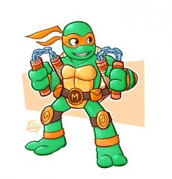 Ninja Turtles clipart super mutant