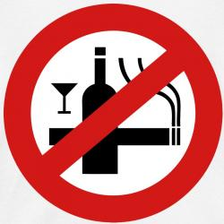 No Smoking clipart alcohol