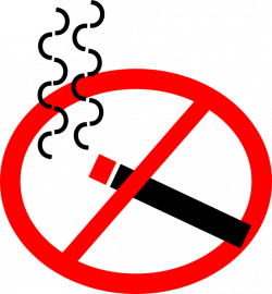 No Smoking clipart animated