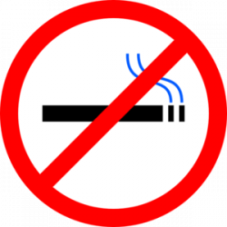 No Smoking clipart anti smoking