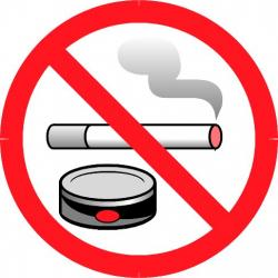 No Smoking clipart anti tobacco