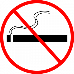 No Smoking clipart cigarette