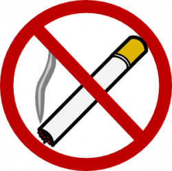 No Smoking clipart healthy person