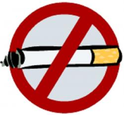 Smoking clipart anti