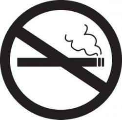 No Smoking clipart non