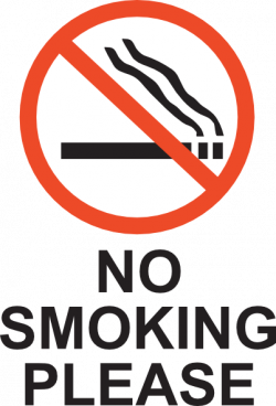 No Smoking clipart please